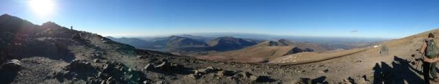summit of Mount snowdon