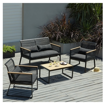 George at Asda Noir Garden Sofa Set