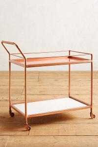 Anthropologie Delaney Bar Cart